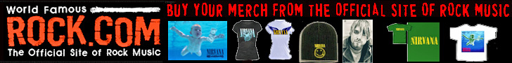 Get Nirvana T-Shirts & Merch from Rock.com