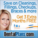 DentalPlans.com: 3 Extra Months for FREE (for New Members)