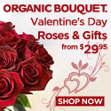 Eco-Elegant Valentines Day Flowers & Gifts