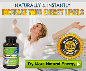 More Natural Energy - Natural Energy Supplement