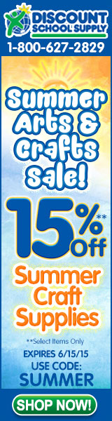 Save 15% On Summer Arts & Crafts & Get Free Shipping