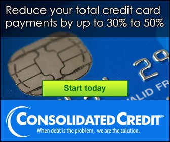 Reduce your total credit card payments by up to 30% to 50%