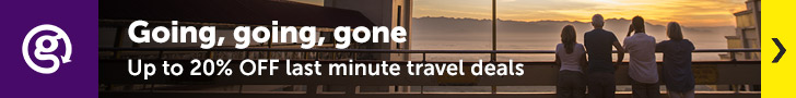 G Adventures: Up to 20% off last minute travel deals