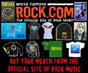 Get Nirvana T-Shirts & Merch from Rock.com