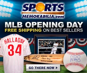 Shop MLB favorites from SportsMemorabilia.com