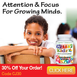 WittyKidz Focus & Attention Supplement for Kids - 30% Off + Free Shipping!