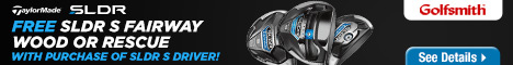 FREE TaylorMade SLDR S Fairway Wood or Rescue when you purchase a SLDR S Driver at Golfsmith.com