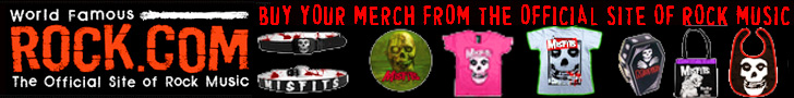 Get The Misfits T-Shirts & Merch from Rock.com