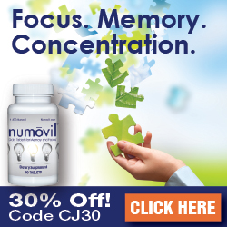 Numovil Memory, Focus, & Concentration Supplement - 30% Off + Free Shipping!