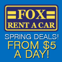 Cool Winter Rental Deals at Fox Rent A Car