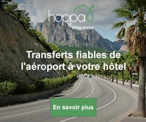 Hoppa Transferts fiables de l'aéroport de Genève à votré hôtel