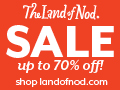 Holiday Sale at The Land of Nod 120x90