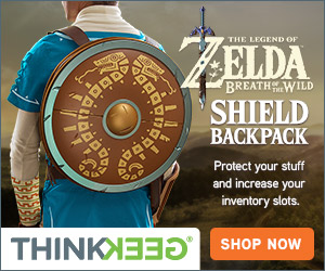 Zelda Breath of the Wild Shield Backpack