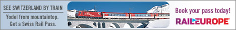 Book your Swiss Pass with Rail Europe