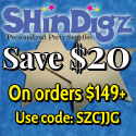 FREE Shipping , use code SZCJG9 on $50+.