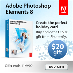 Adobe Photoshop Elements 8 Shutterfly Offer