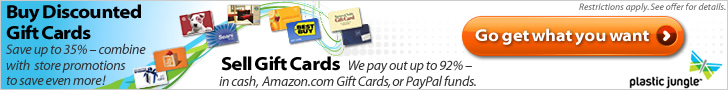 Buy, Sell, Trade Gift Cards!