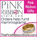 the pink ribbon store banner