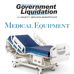 Used Medical Equipment from Government Liquidation