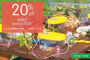 Save 20% Off Select Early STEM + Get Free Shipping On Orders Over $99 Using Code: TWENTYSTEM At Disc
