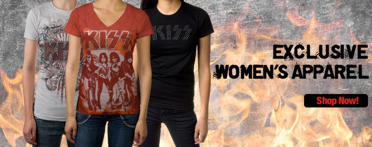 KISS Official Store - Women's Apparel