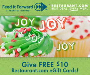 Free Gift Cards from Restaurant.com