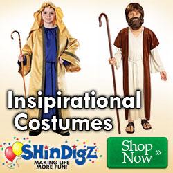 Inspirational Costumes at ShindigZ.com