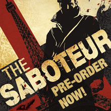 The Saboteur coming soon