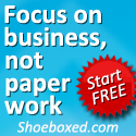 Focus on business not paperwork - Shoeboxed