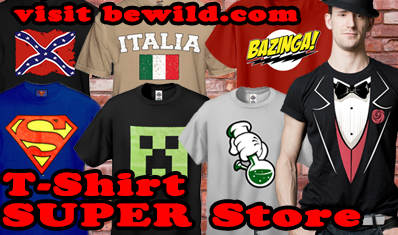 t-shirt superstore with tuxedo shirts and many more tee styles