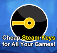 Cheap Steam Keys for all your games.