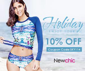 10% Off Women Swimwear Beachwear