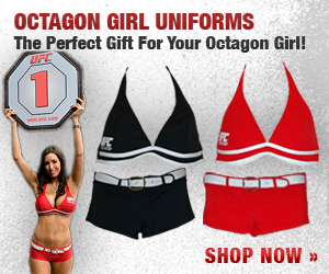 UFC Octagon Girls Official Uniform