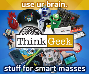 ThinkGeek Use Your Brain