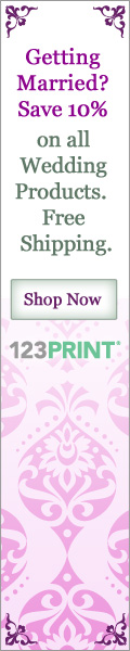 Save 10% on All Wedding Products at 123Print.com