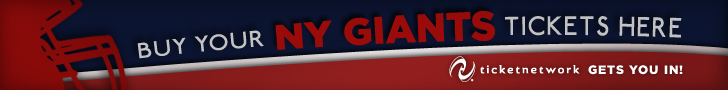 NFL NY Giants Tickets Sunday Monday Football