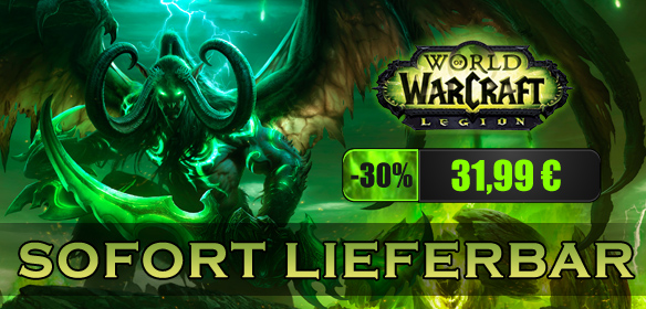 World of WarCraft: Legion WoW Legion - EU (PC) Rabatt