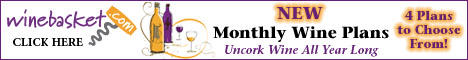 New! Monthly Wine Plans at Winebasket.com