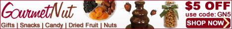 GourmetNut.com - 468x60 - $5 OFF