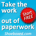 Take the work out of paperwork - Shoeboxed