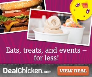 dealchicken, eats, treats and shopping discounts