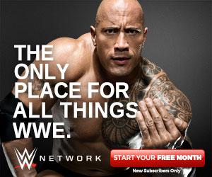 WWE Network Rock 300x250