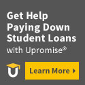 Earn cash back with Upromise to help pay down your student loan.