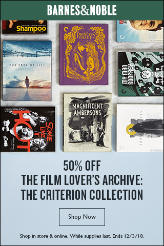 50% Off The Criterion Collection: Curated special editions for film connoisseurs.