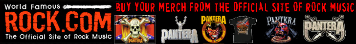 Get Pantera T-Shirts & Merch from Rock.com