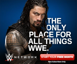 WWE Network Roman Reigns 300x250