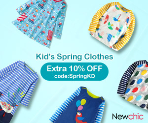 10% OFF for Cotton Kid's Clothes