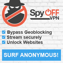 SpyOFF: Anonymous, secure & fast online