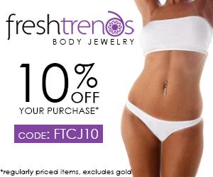 FreshTrends Body Jewelry