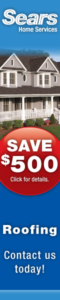 Roofing installation by Sears